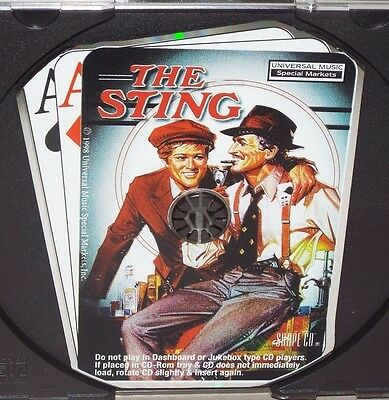 The Sting (Promo 4-Track Soundtrack) (CD, 1998, Disc Only, Rare, Used)