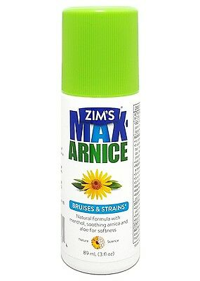 Zim's Max-Arnice Roll-on Gel, Soothing Natural Arnica Aloe Menthol - EXP 2017