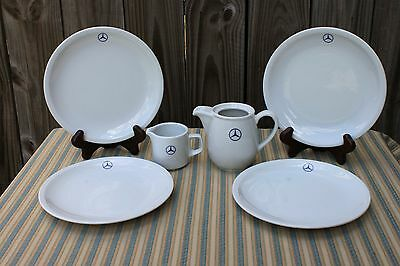 Six Pieces of Mercedes Benz Pattern China by Bauscher Wieden (Germany)