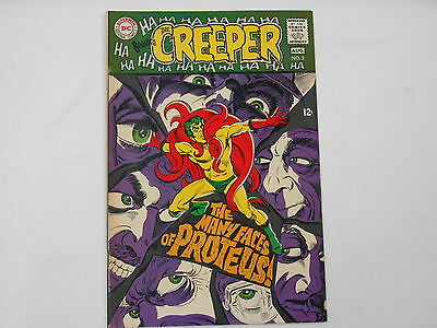 Beware The Creeper #2, (DC Aug. 68), The Many Faces of Proteus, 7.5 VF-