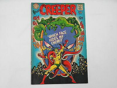 Beware The Creeper #4, (DC Dec. 68), Which Face Hides My Enemy, 6.5 FN+