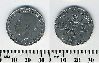 Great Britain 1922 - 1 Florin Silver Coin - King George V - #1