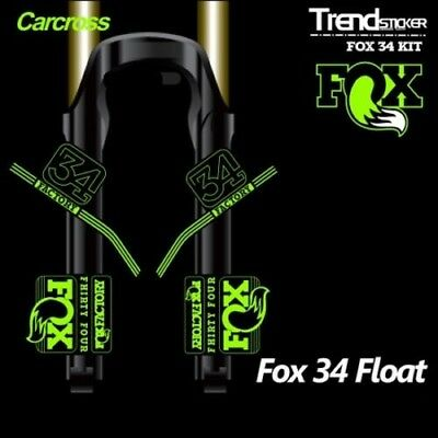 Stickers Fork Fox 34 2018 Wp76 Stickers Decals MTB Fork Adhesive Stickers