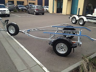 Seatrail 4.7m Boat Trailer, Galvanised frame,13inch wheels.PH 1300 403 213