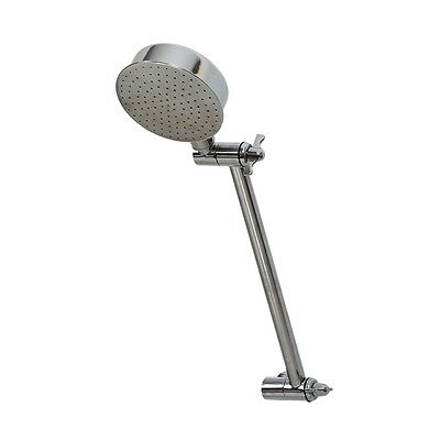"""All Directional Shower Rose Head With Arm WELS 8LPM Rated Chrome Plated 1/2"""" BSP"""