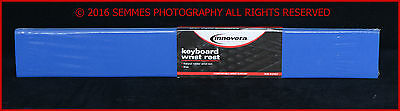 Natural Rubber Keyboard Wrist Rest Blue by Innovera  NEW