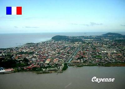 French Guiana Cayenne Aerial View New Postcard
