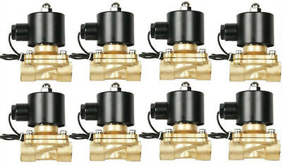 """Air Ride Suspension Valves 250psi 8 New 1/2""""npt Brass Fast FBSS Bag System"""