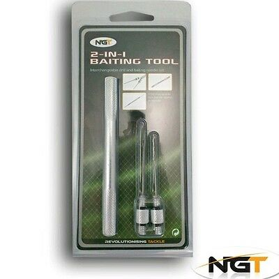 Kit Ngt Aghi Innesco 2 In 1 Baiting Tools Acciaio