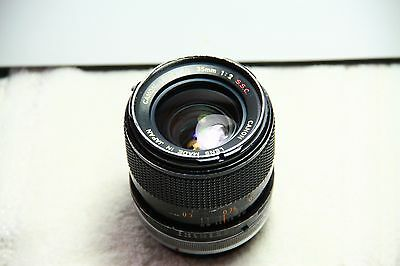 Canon 35mm f2 SSC Lens in FD mount.