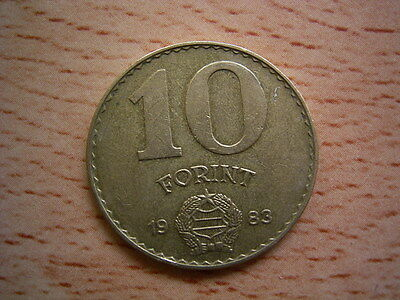 1983 Hungary 10 forint Coin Collectable