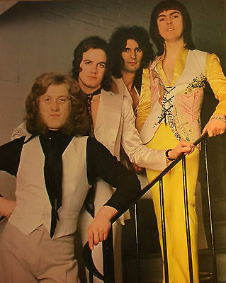 1 english clipping SLADE NOT SHIRTLESS ROCK BOY BAND BOYS GROUP BRAVO MEN 70`s
