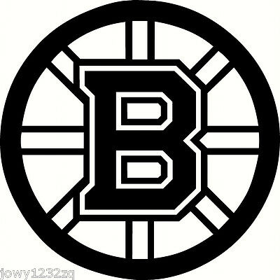 BOSTON BRUINS Logo NHL Color Bumper Sticker Vinyl Decal