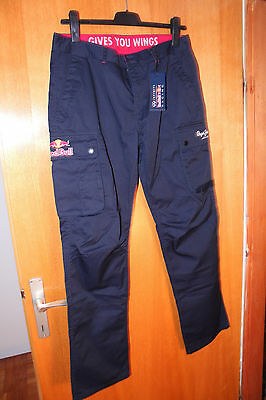 Red Bull / Pepe Jeans Cargo Pants, Size 28/32 (EXTREME RARE) - Lot / Bundle of 5