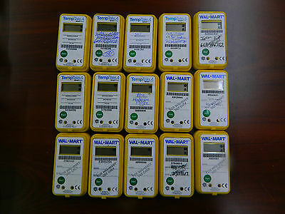 Lot of 15 TempTale4 WalMart G-28247490 Temperature Monitor Sensitech