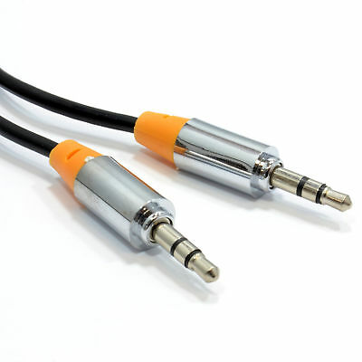 1m PRO FIRE 3.5mm Jack Male to Male Stereo Audio Cable Lead HEADPHONES [008047]