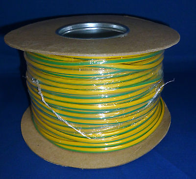Earth Sleeving PVC Green & Yellow 3.0mm 4.0mm Various Lengths Available
