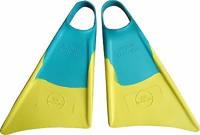 Pro Bodyboard Fins by Sola Sports for body boarding with soft foot pocket #TD006