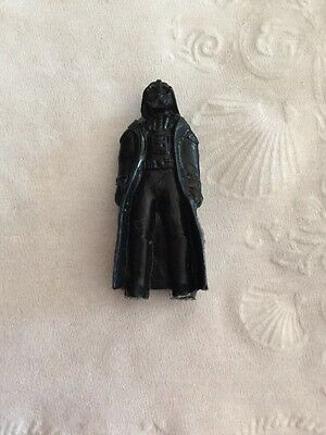 "Vintage 1977 Japan Star Wars Meiji Candy Plastic Toy Figure 1.5"" Darth Vader"