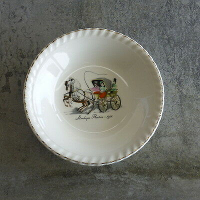 1 Vintage Johnson Sovereign Pottery Bowl Stanhope Phaeton 1900 Australian Horse