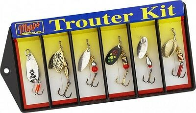Mepps TROUTER KIT (6 Lures)    ...     (m22)