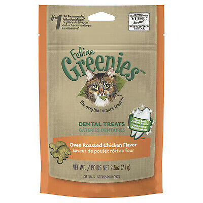 Greenies Cat Dental Treats - Chicken 85g