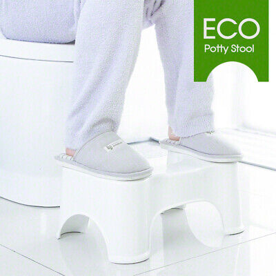"Sit & Squat Potty ECO KIds Toilet Training Stool 8.5"" Healthy Non-Slip Pads AU"