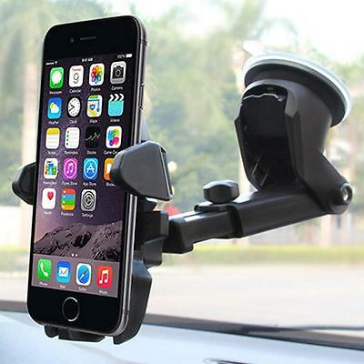 360º Car Windshield Dashboard Suction Cup Mount Holder Cradle For GPS SmartPhone