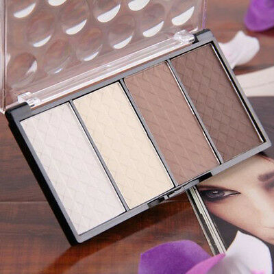 Four Color Pressed Powder Highlight And Contour Powder Shading Make-up Cosmetic