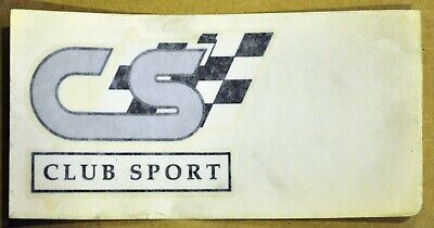 Genuine Holden Hsv Vn Clubsport Badge Decal. For Guard Left Or Right Or Boot Lid