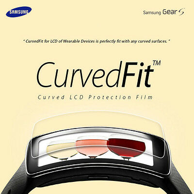 Healing Shield Clear Screen Protection Flim Protector 3PCS for Samsung Gear S