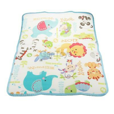 Colorful Baby Changing Pad Toddler Crawling Play Mat Assorted Animal Pattern