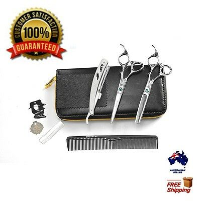 """6.7""""Professional Barber Hair Cutting & Thinning Scissors Shear Hairdressing Sets"""
