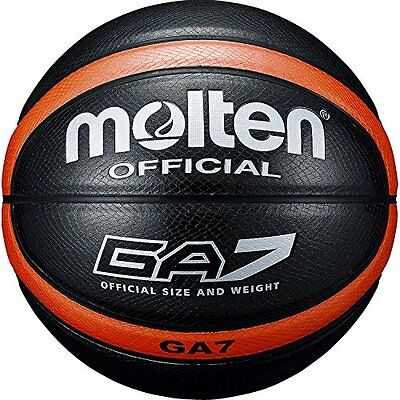 Molten GA7 Indoor&Outdoor Basket Ball BGA7 Artificial Leather OrangeBlack