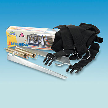 NEW PYRAMID NR Pdq Awning Tie Down Storm Mate Strap Kit ...