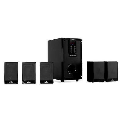 New Auna 5.1 Channel 100W Speakers Surround Sound Home Theatre System Ac3 Input