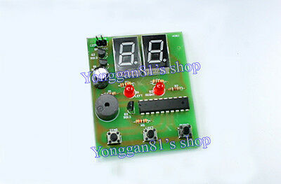 Simple Digital Human Reaction Speed Tester Circuit DIY Electronic Learning Kits
