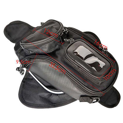 UK Magnetic Motorcycle Scooter Motorbike Oil Fuel Tank Bag for iPhone 6 6s GPS