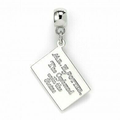 Harry Potter : HOGWARTS ACCEPTANCE LETTER Slider Charm from The Carat Shop