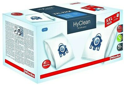 16 Pack Genuine Miele Gn Hyclean Vacuum Hoover Cleaner Dust Bags With 8 Filters