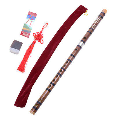 Traditional Handmade Chinese Musical Instrument Bamboo Pluggable Flute/Dizi In G