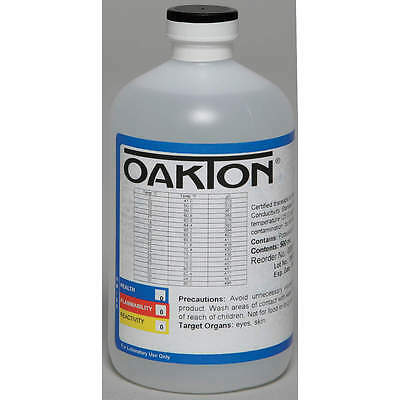 Calibration Solution,1 Pt.,OAKTON.EC-# WD-00653-47,447 uS/cm, NEW Free Ship #11D