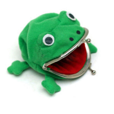 Naruto Uzumaki Frog Shape Coin Purse Green
