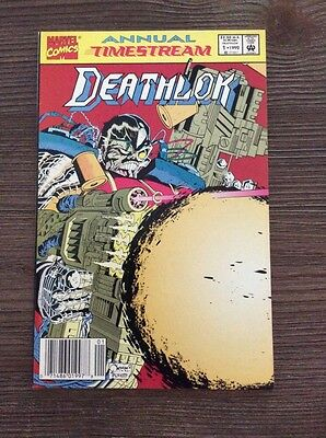 Deathlok Annual # 1 VF+ Quesada/Palmiotti art.
