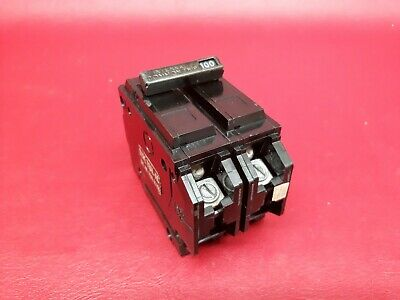 GE General Electric THQL21100 2 Pole 100 Amp 120/240 Volt Breaker