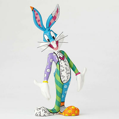 Looney Tunes Bugs Bunny Figurine by Romero Britto NEW