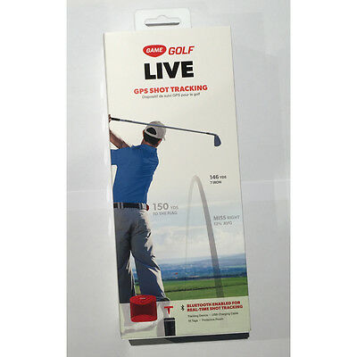 GAME GOLF LIVE - GPS Shot Tracking System, New