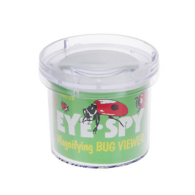 Insect Viewer Locket Box Jar Magnifier Bug Magnifying Loupe Watch Toy