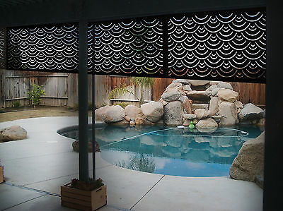 Pack of 5x Apollo 1200mm x 600mm Privacy Screens - Garden Screen - Outdoor