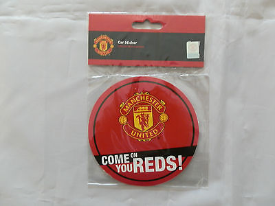 Manchester United Car Window Sticker Decal - Official Merchandise